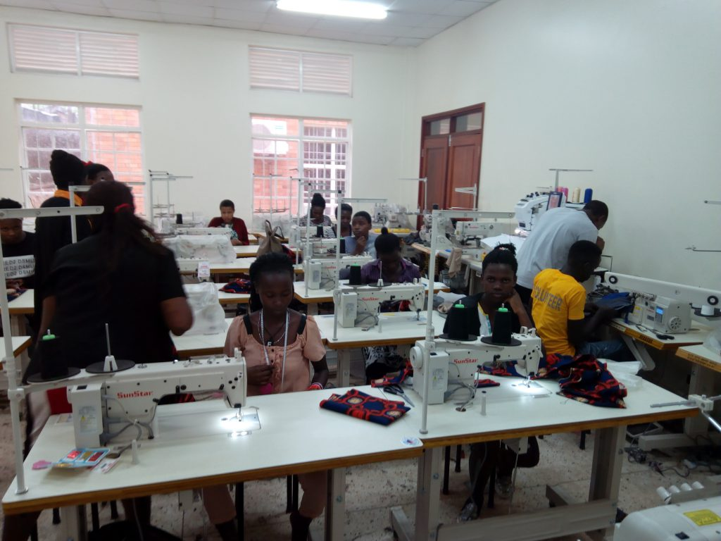 Fashion and Garment Design Day Programme Trainees During Practice