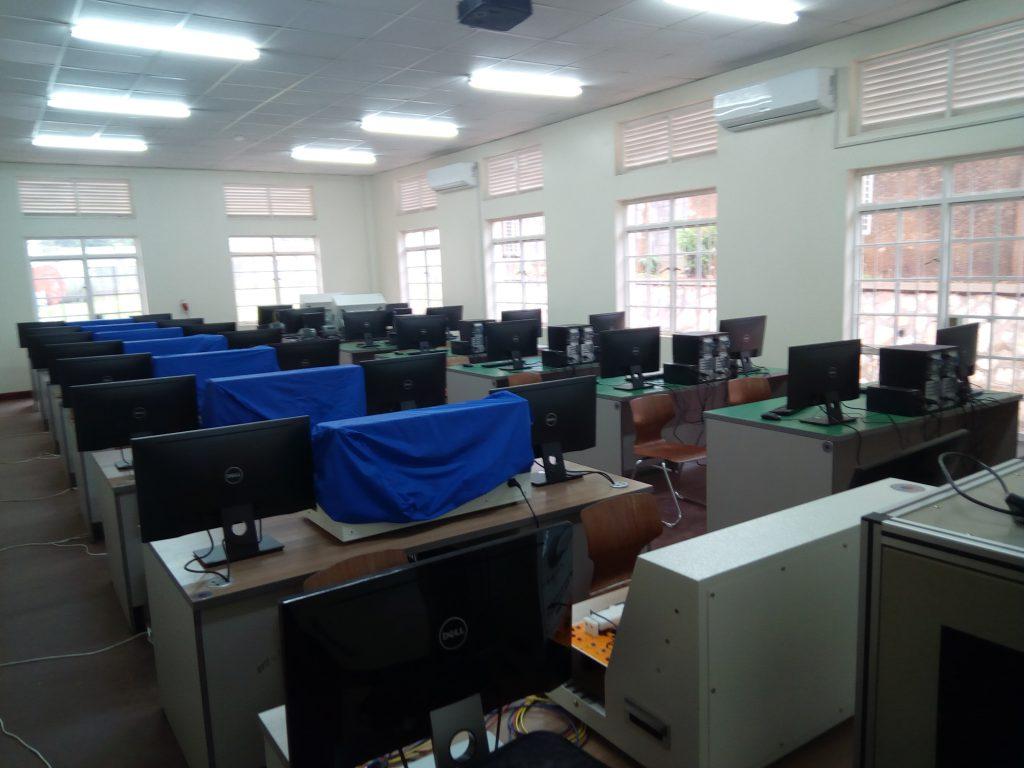PLC Control Computer Room